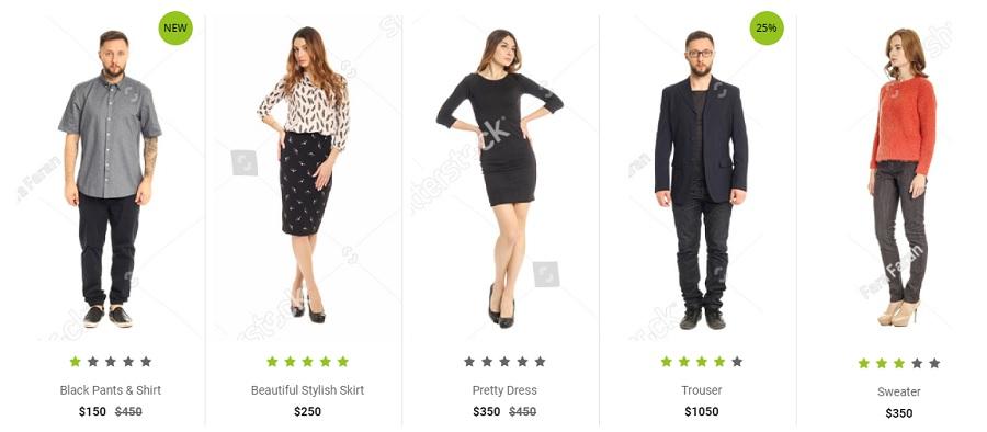 Pcube Online Fashion shop
